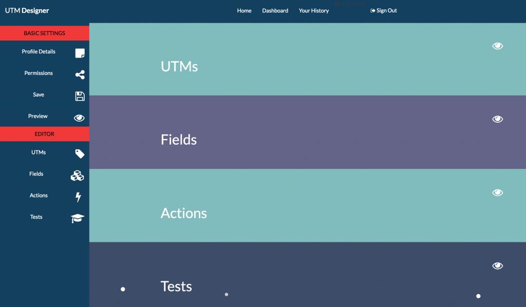 UTM Designer Overview